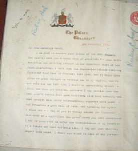 Bhavnagar 3 Feb 1913 pg 1