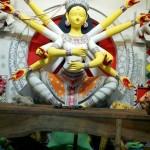 Durga in Mithila